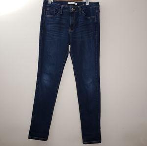 KanCan Blue Light Washed Skinny Jeans Size 11/M